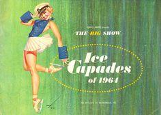 §§§ : Ice-Capades Brochure : George Petty : 1964