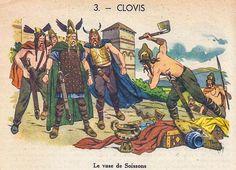 CLOVIS - Le vase de Soissons  Belles histoires de France, 1951 (3/36)