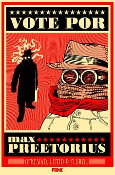 Vote for Max Preetorius propaganda