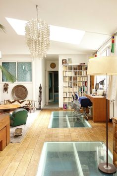 Before & After: An Old Parisian Printing Factory Becomes a Creative Family Home