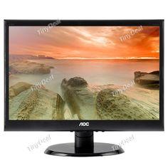 "AOC E950SN 19\"" TN LED-Lit Monitor 1440x900 5ms 20M:1 VGA ETC-384786"