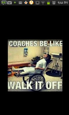 Coaches be like lol. So true. Funny Soccer Memes, Volleyball Memes, Softball Problems, Basketball Memes, Gymnastics Quotes, Lacrosse Memes, Gymnastics Problems, Girls Lacrosse, Cheerleading Memes