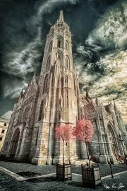 gabor-kovacs-infrared-gallery-9 Infrared Photography, Interesting Buildings, Building Structure, Photography Gallery, World Best Photos, Burj Khalifa, Photo Contest, Beautiful Places, Community