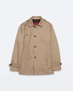 Image 6 of BASIC TRENCH COAT from Zara