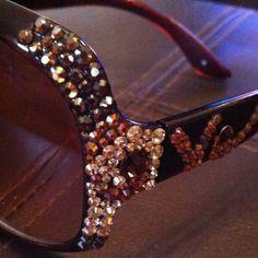 0db8aa5244c Jimmy Crystal of New York Sunglasses.