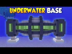 Minecraft: How to Build a Secret Underwater House - Base Tutorial - YouTube #minecraftfurniture
