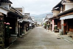 """, Japan, aka """"Udatsu no Machinami"""" (lit. *'Udatsu' is a type of short pillar used for the roofs in Japanese trad. Places Around The World, Around The Worlds, Tokushima, World Of Color, Travel Goals, Vacation Trips, Beautiful Places, Amazing Places, Places To Go"""