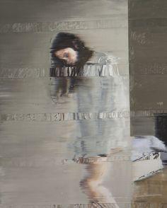 スイスの芸術家アンディデンツラーはグリッチ絵画の彼の一連の古典的肖像画、アナロググリッチを適用