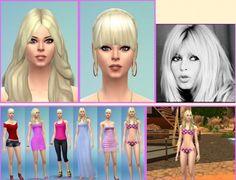 Birkschessimsblog: Brigitte Bardot • Sims 4 Downloads