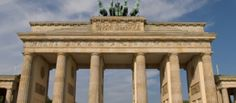 Brandenburg Gate in Berlin, Germany Language Learning Software, German Language Learning, Brandenburg Gate, Best Investments, Us Travel, Outdoor Structures, Berlin Germany, Places, Hostel