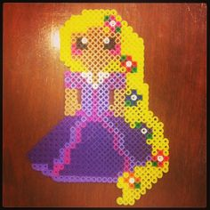 Rapunzel Tangled perler beads by gleamsofsunshine