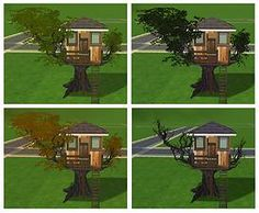 Mod The Sims - The Treehouse Tree