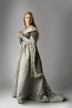 "Another shot of this costume from ""The White Queen"""