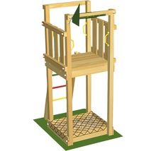 Spielturm Jungle Gym Tower ohne Rutsche 219
