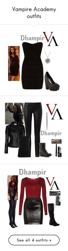 """""""Vampire Academy outfits"""" by gone-girl ❤ liked on Polyvore"""
