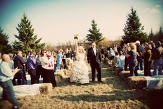Minnesota Rustic Country Wedding
