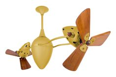 Matthews Fan Company AR-BN-WD Brushed Nickel Ar Ruthiane Dual Rotational Ceiling Fan - Blades and Wall Control Included Contemporary Ceiling Fans, Brushed Nickel Ceiling Fan, Ceiling Fan Blades, Fan Brush, Joss And Main, Indoor, Steel, Wall, Accessories