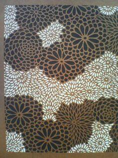 伊勢型紙 Ise-katagami(dyeing stencil of kimono fabric)                                                                                                                                                                                 More