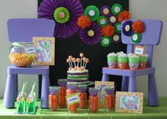 Monster Party  Boys Party Ideas  www.spaceshipsandlaserbeams.com