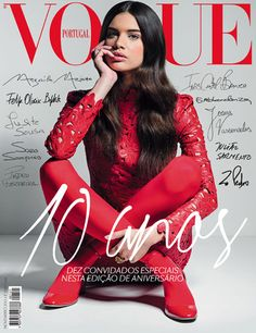 Vogue Portugal #121: Novembro de 2012 (Sara Sampaio on the Cover)