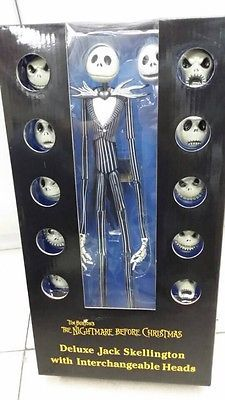 The Nightmare Before Christmas Jack Skellington 15″ Figure 12 Skull Heads Doll