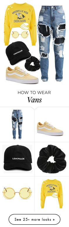 """레몬 에이드"" by issastyle13 on Polyvore featuring Vans, Spektre and Miss Selfridge"