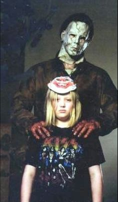Young and older michael myers from Rob zombies Halloween