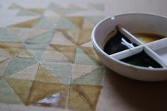 natural dye ink __ by Claire Wellesley-Smith, on flickr