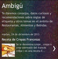 Los invitamos a leer nuestra nueva entrada de #blog es una receta que pueden hacer hoy! www.ambiguconsult.blogspot.mx #crepas #food #delicious #xmas #tasty #creps #Ambigú