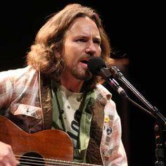 I want his voice ;) - Eddie Vedder