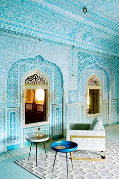 Feeling the urge to travel and design new pieces think Ive set my sights on India this year for some inspiration How gorgeous is this place the Samode Palace in Jaipur wanderlust design murkanijewellery Image via archdigest wwwmurkanicomau Indian Architecture, Modern Architecture, Ancient Architecture, Modern Buildings, Residential Architecture, India Travel, Jaipur Travel, India Trip, London Travel