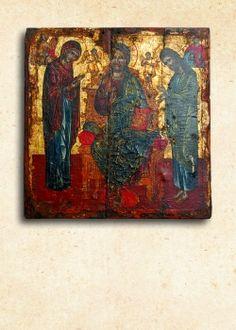 Ἡ Δέησις, 15ος αἰ., Ἐπισκοπεῖο Νεαπόλεως Visionary Art, Hippie Outfits, Psychedelic Art, Vintage World Maps, Greek, Painting, Greek Language, Painting Art, Paintings