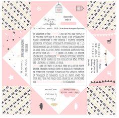 Et hop, vous êtes plusieurs à m'avoir demandé une version colorée des cartes de voeux cocotte. Je vous propose, du coup, cinq versions différentes reprises de créations du blog et...