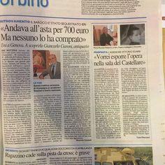 ven 19.05.2017 Carlino, Urbino, pag. 19. Barocci San Sebastiano frammento ritrovato