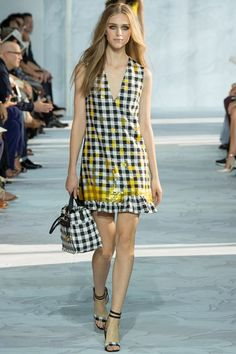 DIANE VON FURSTENBERG SPRING / SUMMER COLLECTION 2015 #EZONEFASHION