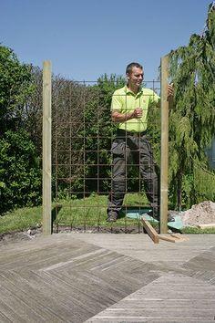 Porch Garden, Garden Trellis, Garden Gates, Patio, Fence Design, Garden Design, Screen Plants, Small Vegetable Gardens, Garage Pergola