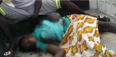 A nursing mother was reportedly crushed to death by a truck while crossing the road at Siun axis along the Siun-Sagamu-Abeokuta Expressway on Saturday.  The accident was said to have been caused by the speeding driver of the truck.  The truck after crushing the woman who was said to be nursing a three-month baby later hit two other men before it came to a halt.  The Public Relations Officer Ogun State Traffic Compliance and Enforcement Corps Babatunde Akinbiyi said the accident occurred…