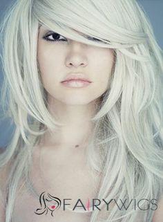 Sexy Medium Female Wavy Celebrity Hairstyle 18 Inch : fairywigs.com