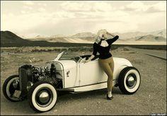 Doris Mayday & Model A Ford