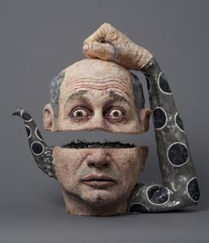 The Humorous Ceramic Tea Pots and Old Master Art of  Noi... - mdolla