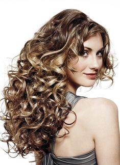 DIY Make Your Own Spiral Perm Hair  @Lori Bearden Bearden