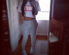 Sporty day outfit #fashion #obey #sneakers