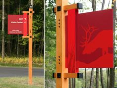 Gecko Group signage for Elk Country PA