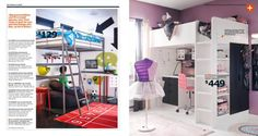 IKEA Catalog 2015  - Beds for rooms for kids?