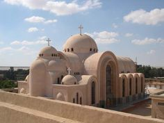 Coptic churches and monasteries - Saint Bishoy Monastery Saint Katherine, Valley Of The Kings, African Countries, Giza, Place Of Worship, Luxor, Capital City, Alexandria, Architecture
