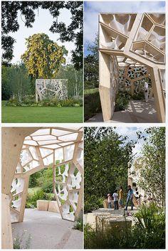 temporary garden- Times Eureka Paviion  Nex Architecture & Marcus Barnett Landscape Architect