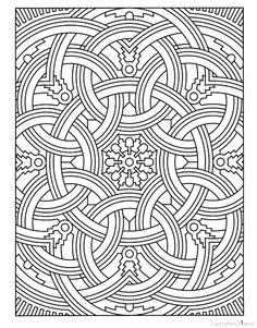This beautiful graphic can be colored in with any media and used ...