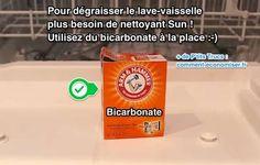 Au fil des utilisations, le lave-vaisselle s'encrasse et devient moins efficace. Pour purifier votre lave-vaisselle en profondeur, l'astuce est d'utiliser du bicarbonate.   Découvrez l'astuce ici : http://www.comment-economiser.fr/pour-degraisser-lave-vaisselle-utilisez-bicarbonate.html?utm_content=bufferfe640&utm_medium=social&utm_source=pinterest.com&utm_campaign=buffer