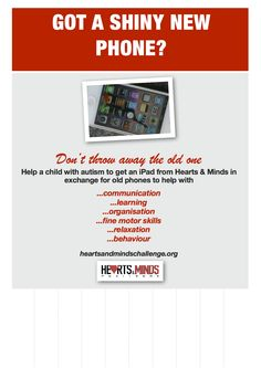 Phone collecting poster 2 New Phones, Mobile Phones, Old Phone, Children With Autism, Heart And Mind, Fine Motor Skills, Communication, Mindfulness, How To Get
