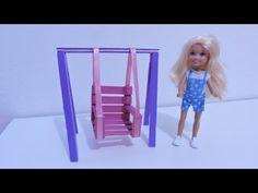 como fazer balança pra bonecas - YouTube